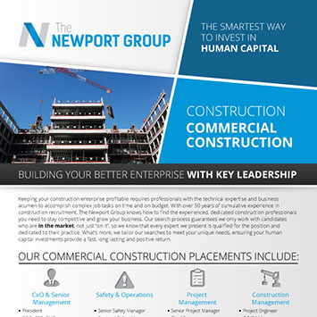 Download Newport Group Commercial Construction Overview
