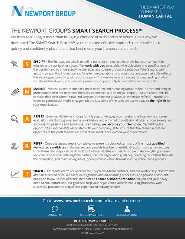 Download Newport Group Smart Search Overview